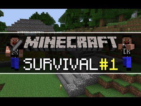 Minecraft Survival - Een gloednieuwe start - Part 1 from YouTube · Duration:  28 minutes 53 seconds