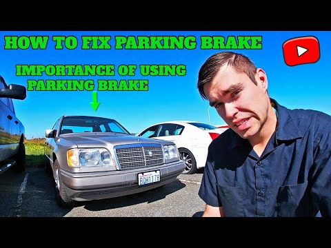How to Fix a Non-Working (Non-Operational) Mercedes-Benz Parking Brake! Detailed Guide! (W124 Case)
