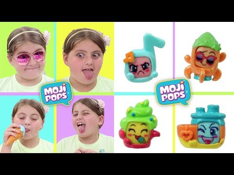 Moji Pops unboxing Guess the Face Emotion Challange