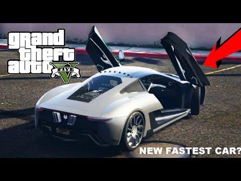 GTA5 ONLINE - NEW FASTEST CAR - XA21 (LAP TIME & COST)