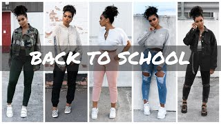 BACK TO SCHOOL LOOKBOOK | College and University Outfits of the Week