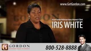Iris White | Actual SSD Client Testimonial | Gordon McKernan