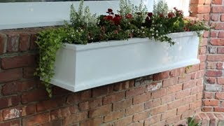 How To Build A Flower / Window Box By Jon Peters