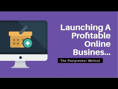 Launch A Business- How To Start  A Profitable Business From A Blog Post (2018)