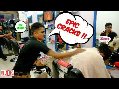 The Great Indian Head Massage (4K)  Original Uncut | ALL CRACKS | ASMR Indian Barber Massage |
