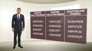 De taal van Forex