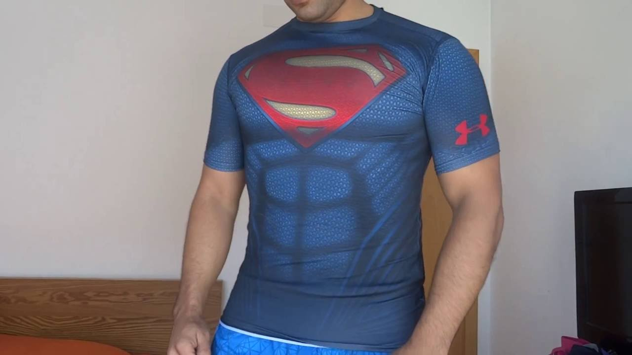 7ea35456ed3ab6 Under Armour for Men's Under Armour® Alter Ego Superman - YouTube