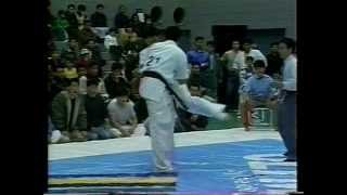 1991・kyusyu 対 山下選手.