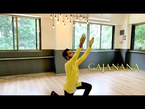 Gajanana Dance | Bajirao Mastani | Ganesh Vandana | Tejas Parekh | Thegoldenfeet
