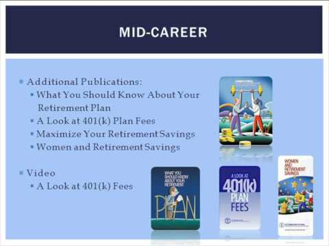 Webinar: Retirement resources