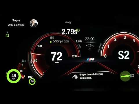 BMW 540i G30 Jb4 Acceleration 0-120