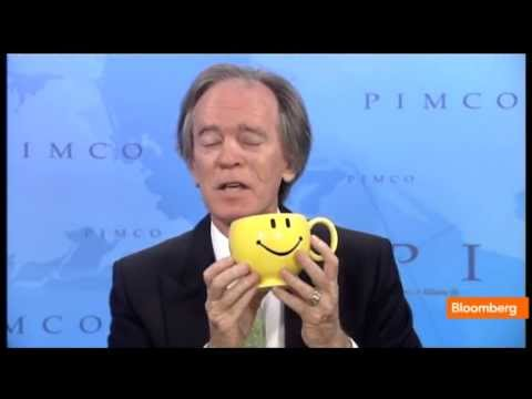 Pimco's Bill Gross Explains Bond Market With Smiley Face Mug