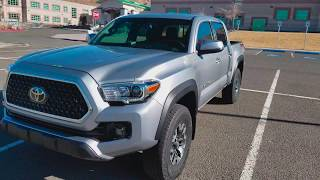 2018 Tacoma TRD-Off Road Overview