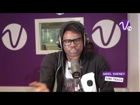 """ARIEL SHENEY en free style sur Vibe Radio Côte d'Ivoire """" Je suis un 10 """""""