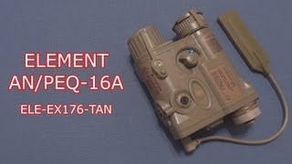 (Review) ELEMENT AN/PEQ-16A Integrated Pointer IPIM Laser Device