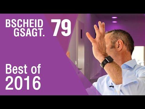 Bscheid gsagt - Folge 79: Outtakes - Das Beste aus 2016