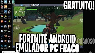 ENFIN 💥 FORTNITE MOBILE FOR FREE WEAK PC EMULATOR ALREADY MAKE YOUR PRE REGISTRATION