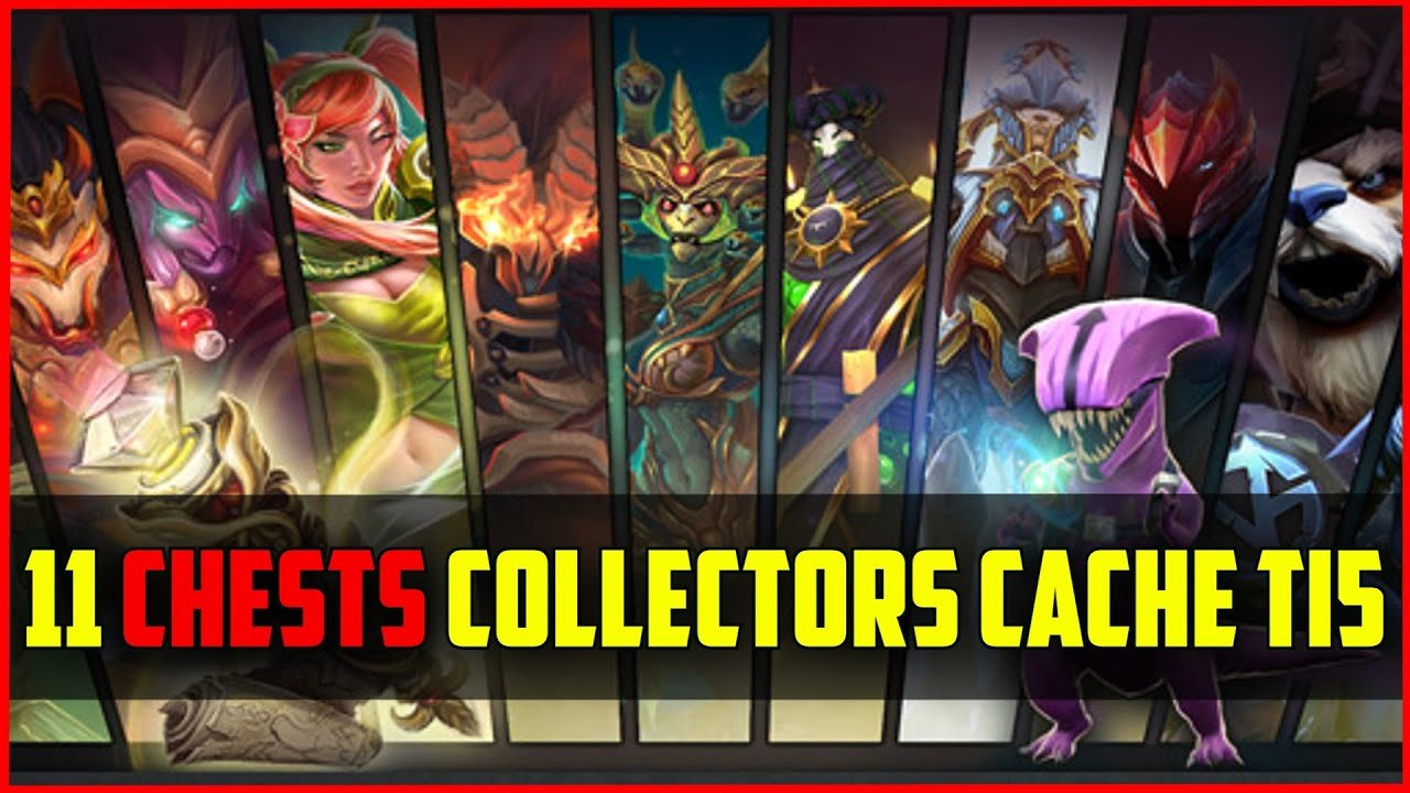 DOTA 2 - Chest Opening #12: TI5 11 Collector's Cache | Faceless Rex Please!