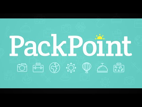 PackPoint app overview