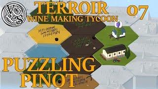 Puzzling Pinot : Terroir EP07 – Wine Making Tycoon Simulator – Vanilla Hills