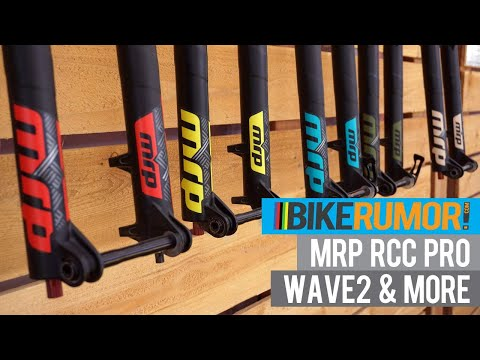 MRP upgrades their suspension upgrade, Wave 1x chainrings & fork color options