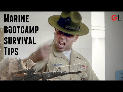 Tips the Government Doesn't Want You to Know About Marine Bootcamp|Poolee's Survival Guide