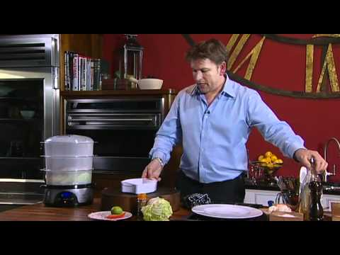 James Martin - How To Make Steamed Sea Bass