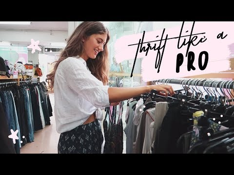 My Top 7 Tips To Thrift Like A PRO!