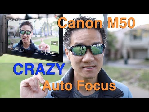 Canon M50 Autofocus Performance Review for Vlogging (when recording in 1080p)