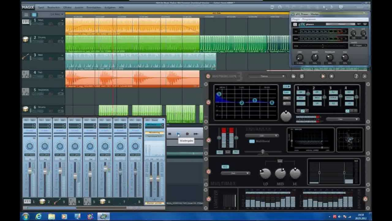 Magix music maker mx premium techno house track one for House music maker