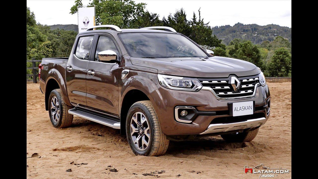 Mercedes Pick Up >> Lanzamiento y Presentación Mundial Renault ALASKAN en Colombia - YouTube
