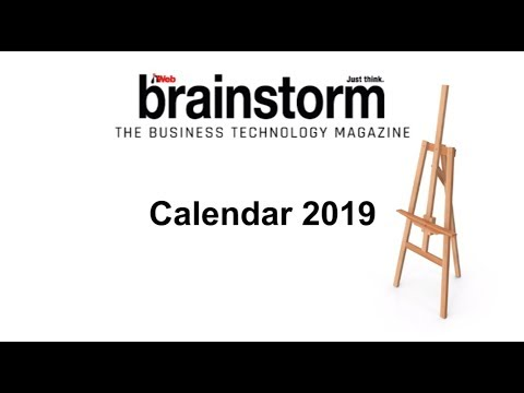The ITWeb Brainstorm Calendar 2019