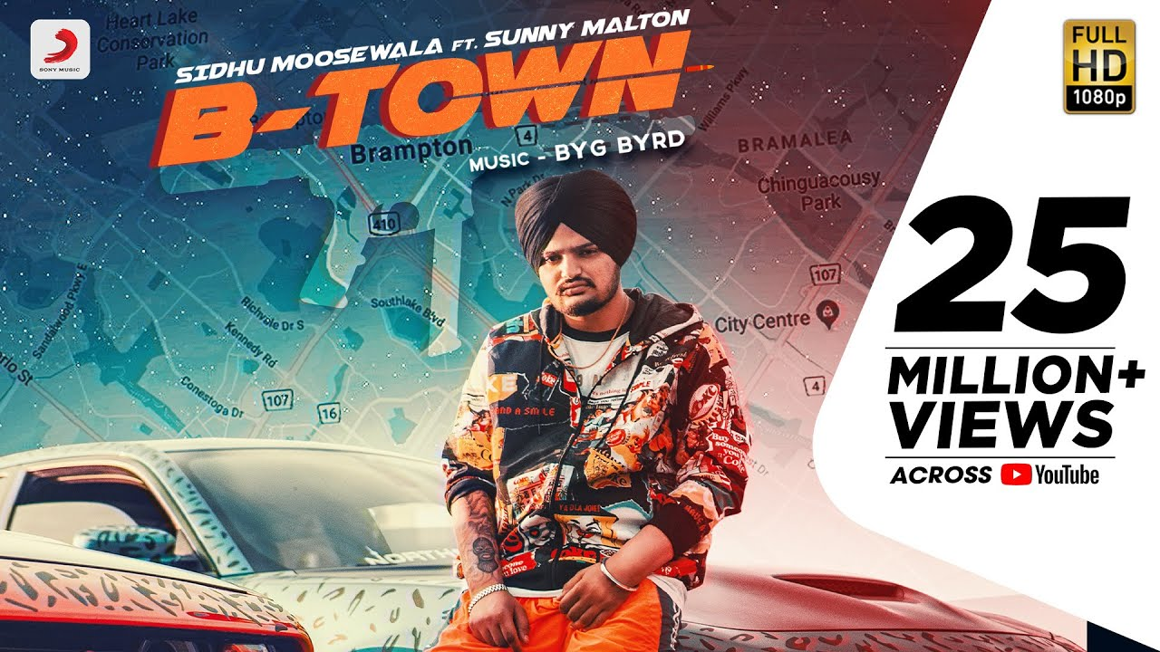 Sidhu Moose Wala - B Town | Byg Bird | Sunny Malton | Official Video 2019
