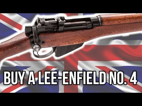 What To Look Out For When Buying A Lee-Enfield No.4