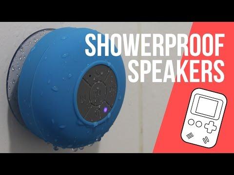 Waterproof Bluetooth Shower Speakers under $5 - Does it suck?