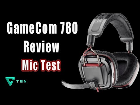Plantronics GameCom 780 Headset Review & Microphone Test - USB Sound Recording