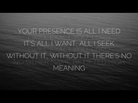 I Will Exalt - Bethel (Lyrics)