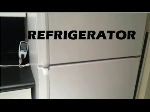 Refrigerator:  How Much Electricity Power Does It Use?