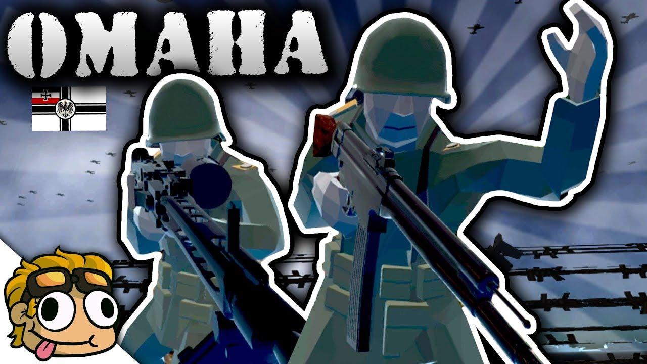 WW2 OMAHA BEACH DEFENSE BATTLE! | Ravenfield Weapon and Vehicle Mod Beta  Gameplay