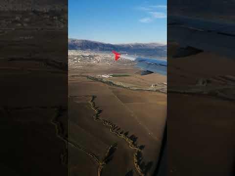 Kahramanmaraş'a uçak inişi 🛬 #Kahramanmaraş #landing #aircraft #approach