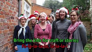 The Salisbury Cathedral Sing-a-long Christmas Song