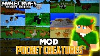MO' CREATURES / POCKET CREATURES MOD - Minecraft PE 0.12.2 / 0.12.0 / 0.12.1