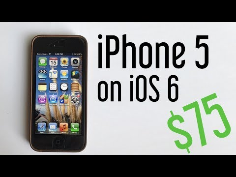 I bought a rare iPhone 5 on iOS 6 for $75!