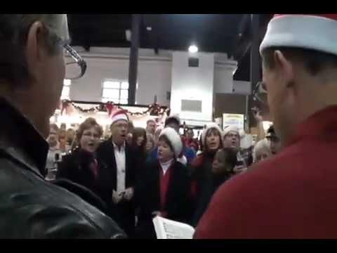 Flash Mob Sings Hallelujah Chorus at Lancaster Central ...