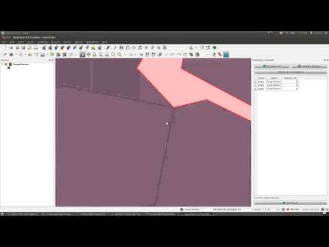Topology Checker Plugin for Quantum GIS - YouTube
