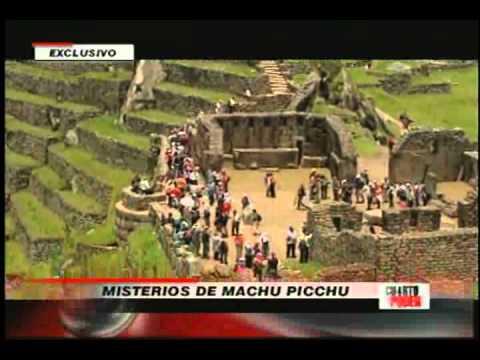Cuarto poder misterios de machu picchu for Cuarto poder america tv