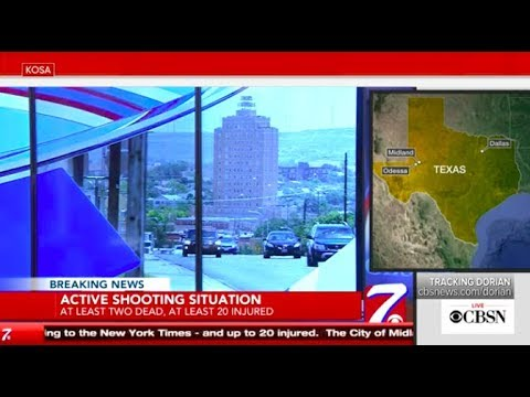 Odessa-Midland shooting: Suspect shot and killed after multiple shootings in Texas, live stream