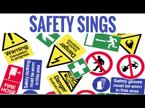 Safety Signs | Prohibition | Mandatory | Warning | Safe Condition | Fire | Aamir