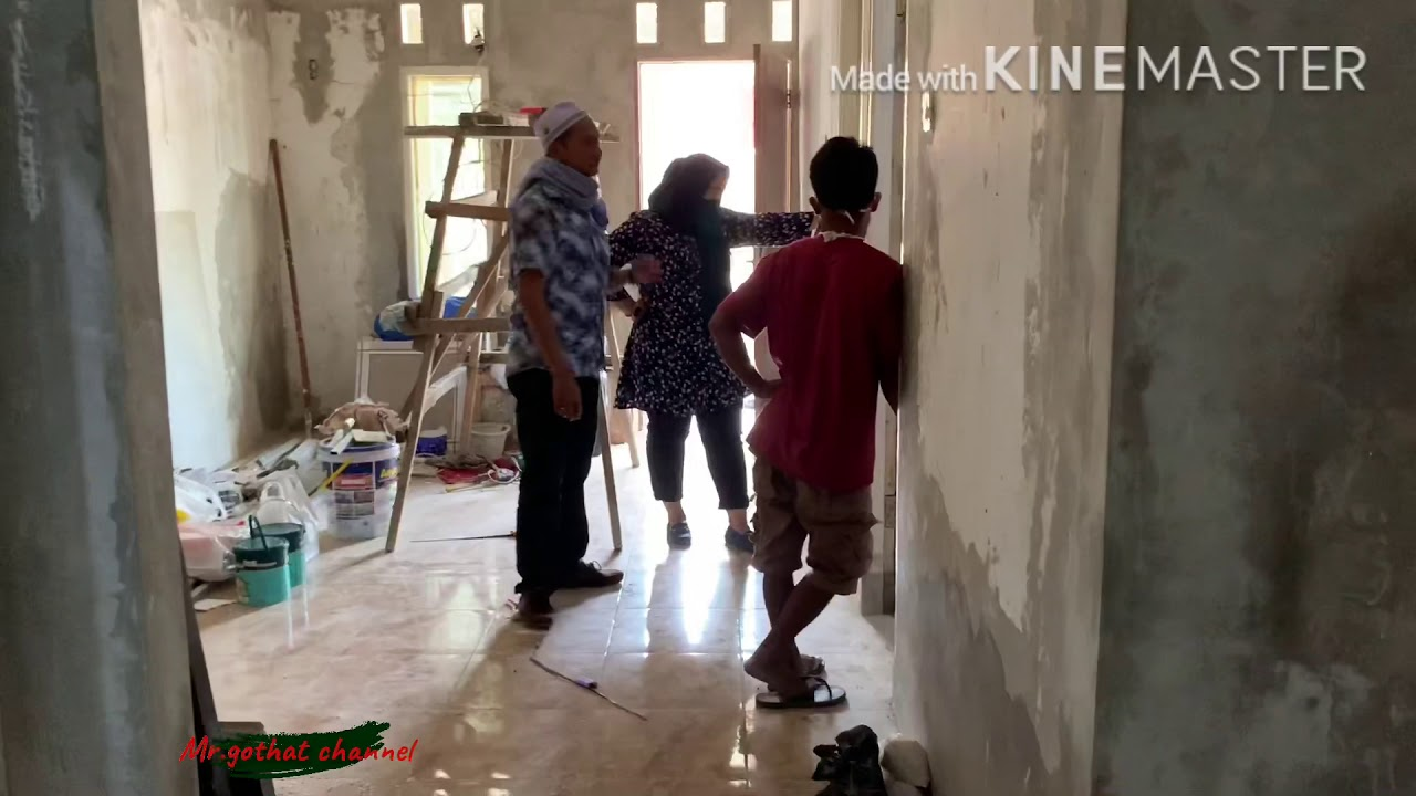 Renovasi rumah tipe 36/106 - YouTube