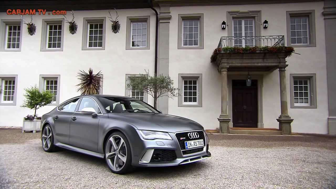 2014 Audi Rs 7 Hd Sportback Quattro Commercial Carjam Tv